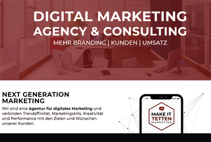Digital Marketing Agency & Consulting